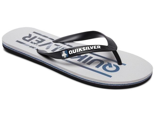 Quiksilver Molokai Wordmark - Sandales Homme - gris/noir